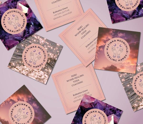 Branding • Katinka Moonchild